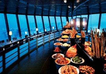 澳門旅遊觀光塔入場券門票下午茶自助早午晚餐連來回噴射飛航船票優惠套票 macau tower breakfast lunch dinner teabuffet package