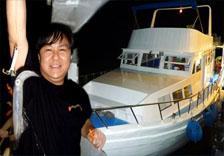 西貢遊艇租賃夜釣墨魚團