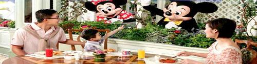 香港迪士尼樂園主題公園酒店自助餐門票入場劵套票 hotel disney hong kong disneyland buffet package
